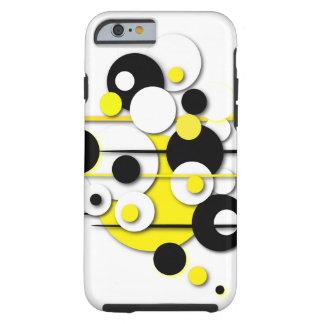 "Phone Case ""Yellow Circles"""