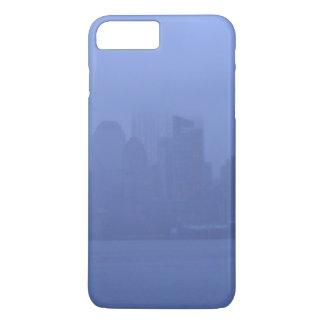 Phone Cases New York City Skyline Blue Fog