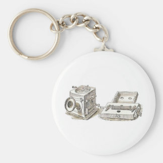 phone grahan Bell old Ring tone phone old Basic Round Button Key Ring
