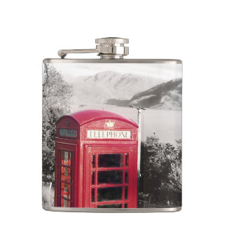 Phone Home Hip Flask