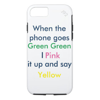 Phone joke iPhone 7 case