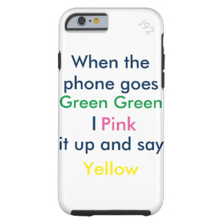 Phone joke tough iPhone 6 case