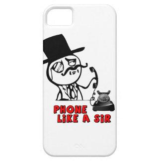 Phone Like a Sir MEME iPhone4 case