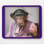 phone monkey mouse pads