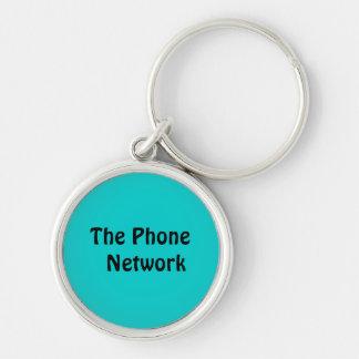 Phone Network Key Chain