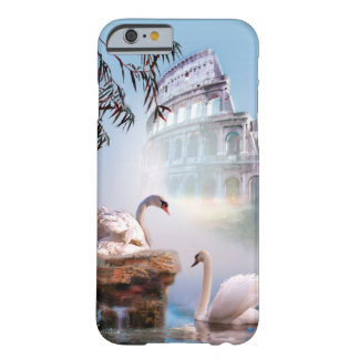 Phone sleeve with Swan pair and Acropolis Barely There iPhone 6 Case