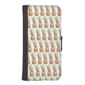 phone wallet case pineapple pattern