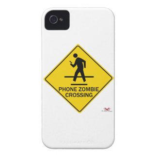Phone Zombie Crossing iPhone 4 Case