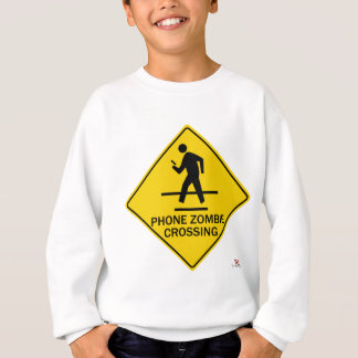 Phone Zombie Crossing Sweatshirt