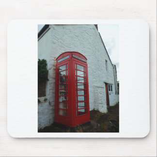 Phonebox Book Exchange Mouse Pad