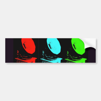 Phonograph Collage Bumper Sticker