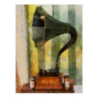 Phonograph Postcard