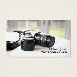 Photagraphy Photographer Camera Lens Business Card