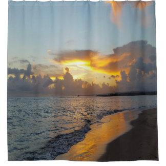 Photo 17 ocean sunset shower curtain