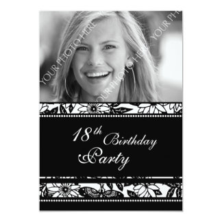 Photo 18th Birthday Party Invitations