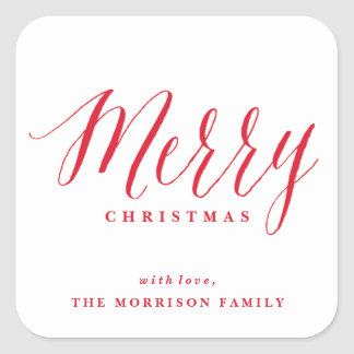 Photo Album | Christmas sticker