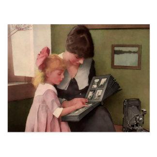 Photo Album Moment. Early 1900's. Postcard
