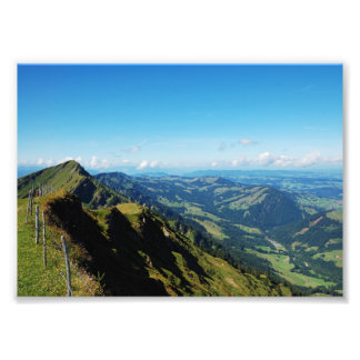 Photo alps with upper baptism in the Allgäu
