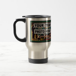 Photo and Personalized Soccer Coach Gifts Travel Mug