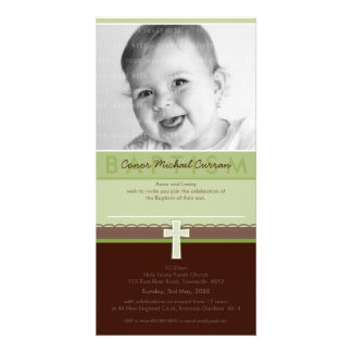 PHOTO BAPTISM INVITATIONS pure 6 Photo Cards
