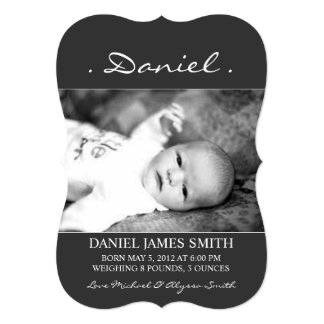Photo Birth Announcement | Name