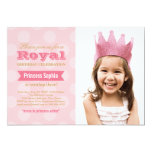 Photo Birthday Party Invitation | Princess in Pink