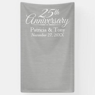 Photo Booth Backdrop - 25th Wedding Anniversary