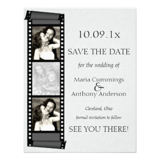 Photo Booth Save The Date Personalized Invitations