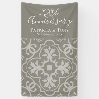 Photo Booth - Wedding Anniversary CAN EDIT COLOR Banner