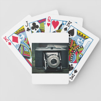 Photo Camera Bicycle Playing Cards