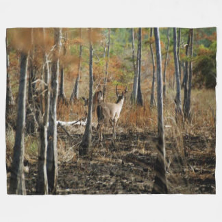 PHOTO CAMO #1 FLEECE BLANKET