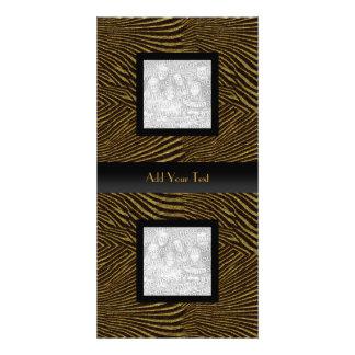 Photo Card African Elegant Black