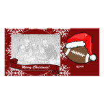 Photo Card - Christmas Football