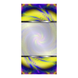 Photo Card Fractal Spiral Vortex