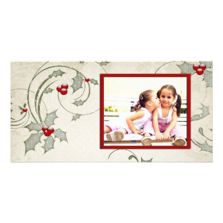 Photo Card Holly