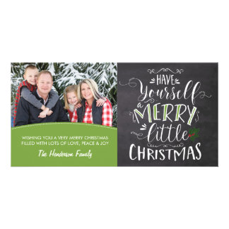 Photo Card - Merry Little Christmas