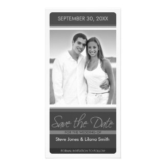 Photo Card: Save the Date Customised Photo Card
