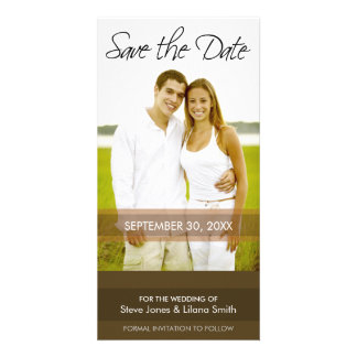 Photo Card: Save the Date - Minimalistic Picture Card