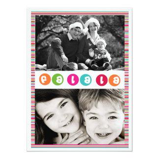 Photo Christmas Card 14 Cm X 19 Cm Invitation Card