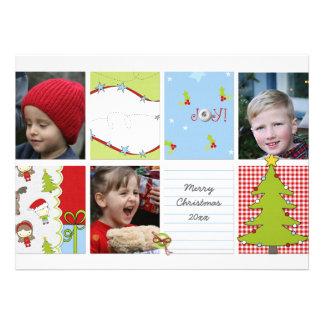 Photo Christmas Card Invitation