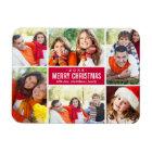 Photo Christmas Collage | Custom Colour Magnet