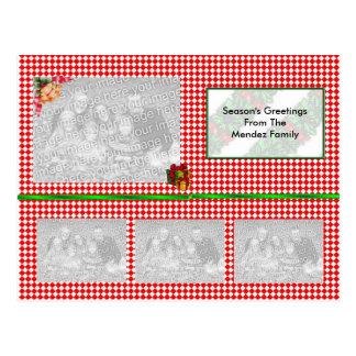Photo Christmas Post Card (TEMPLATE)