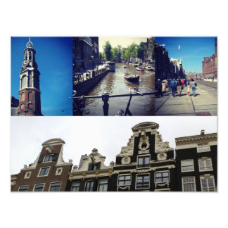 Photo collage Amsterdam 2