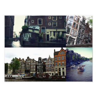 Photo collage Amsterdam 3