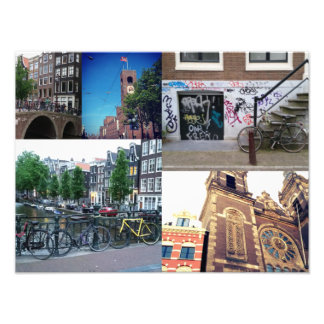 Photo collage Amsterdam 4