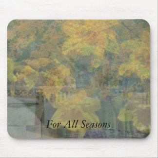photo collage, For All Seasons Mousepad