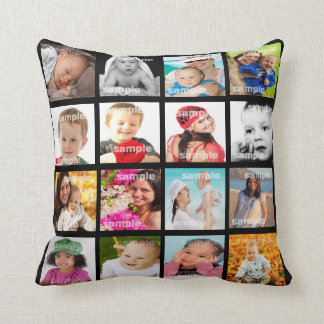 Photo Collage Make Your Own DIY Pillow V2