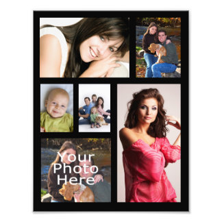 Photo Collage Print, Six Pictures