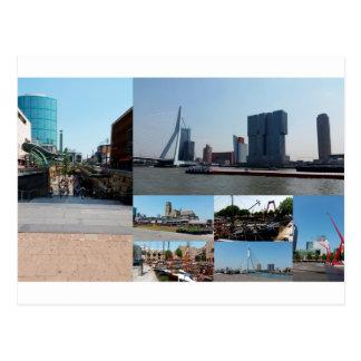 Photo collage Rotterdam 3 Postcard