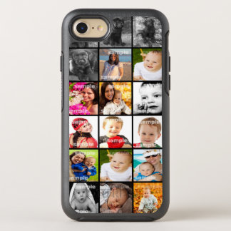 Photo Collage Unique OtterBox Symmetry iPhone 7 Case